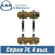 Гребенка для радиаторов KAN-therm 74040