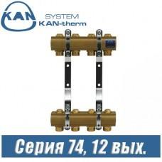 Гребенка для радиаторов KAN-therm 74120