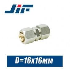 Муфта цанговая JiF D16x16 мм