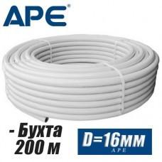 Труба металлопластик APE D16 мм, бухта 200м
