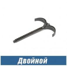 Дюбель-крюк двойной (100 шт)