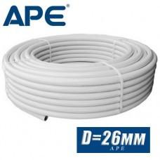 Труба металлопластик APE D26 мм (по метрам из бухты)