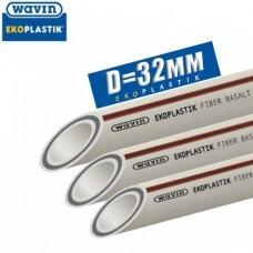 Полипропиленовая труба Wavin Basalt Fiber Plus D32 мм