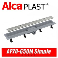 Трап линейный Alcaplast APZ8-650M Simple (65 см)