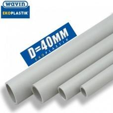 Полипропиленовая труба Wavin PPR D40 мм