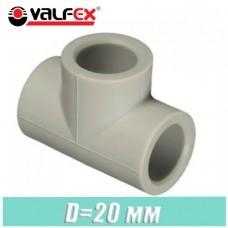 Тройник паечный Valfex D20 мм