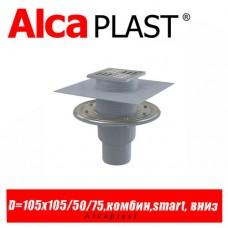 Сливной трап Alcaplast APV2324 105x105/50/75 мм