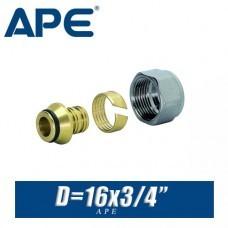 Евроконус APE D16x3/4, вн.