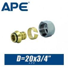 Евроконус APE D20x3/4, вн.