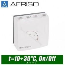Термостат комнатный Afriso TA3 - 10÷30°C (с переключателем)