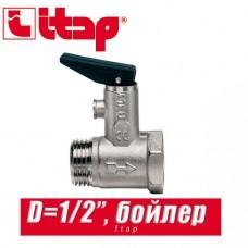 Клапан спускной для бойлера с курком Itap 1/2 арт. 367
