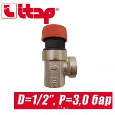 Сбрасывающий клапан Itap 1/2 P=3 bar арт. 368