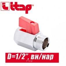 Кран Mini Itap 1/2 вн/нар