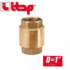 Обратный клапан пружинный EUROPA Itap D1 арт. 100