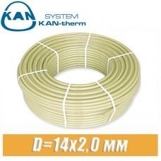 Труба KAN-therm Push PE-Xc D=14x2,0 мм