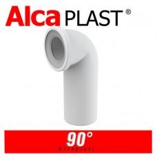 Фановая труба для унитаза Alcaplast A90-90 90°