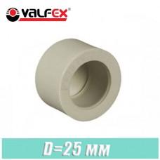 Заглушка паечная Valfex D25мм