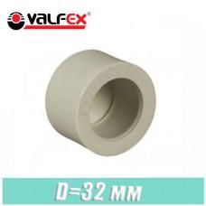 Заглушка паечная Valfex D32мм