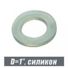 Прокладка силиконовая для резьб D=1