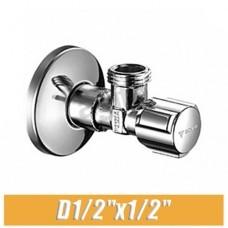 Вентиль угловой ХРОМ Schell Comfort 1/2x1/2