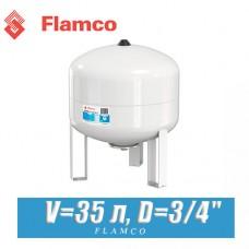Расширительный бак Flamco Airfix 35 л